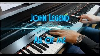 John Legend All Of Me Piano Solo Revisited Hd