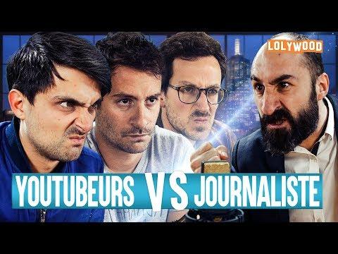 Youtubeurs VS Journaliste
