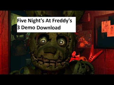 5 nights at freddys game free demo download