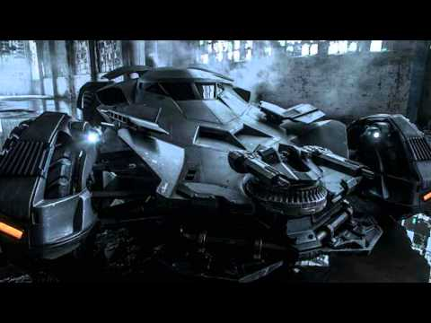Official Batmobile Photo Revealed by Zack Snyder!