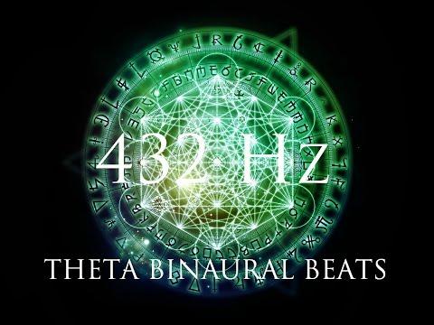 432Hz Powerful Theta Meditation  ➤ Balance Brain & Unlock Potential In Your Subconscious Mind