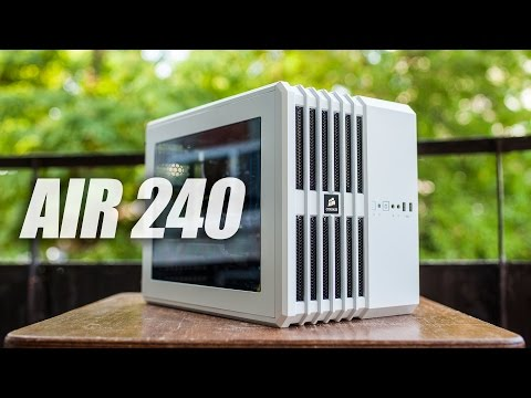 Corsair AIR 240 (mATX) PC Cube Case Review