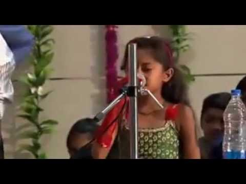 Six Years Old Gujarati  Girl Talking About Abortion And Will Make You Cry. video