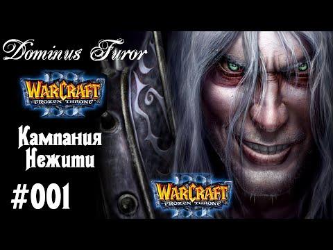 Warcraft 3 The Frozen Throne   Кампания Нежити   #1