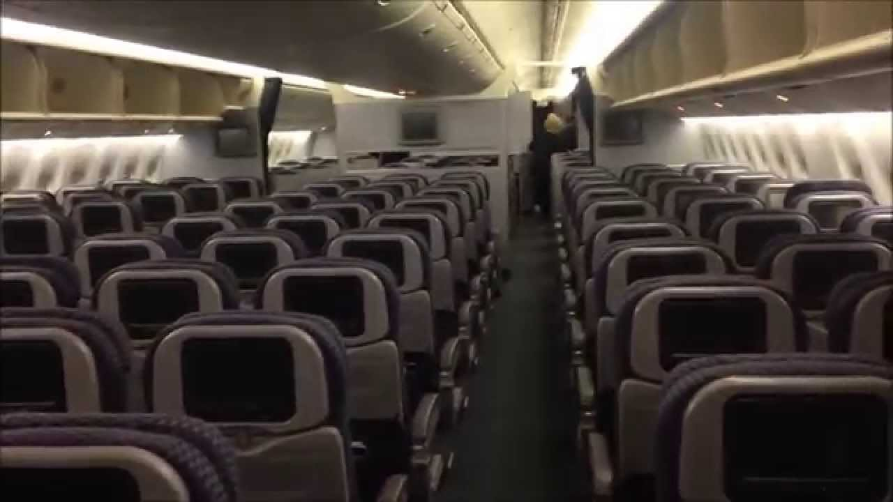United Airline Planes Inside United airlines 777 aircraft
