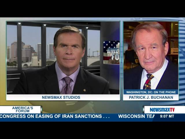 America's Forum | Pat Buchanan Political commentator | Part 1