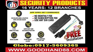 GPS Car Tracking Device Philippines