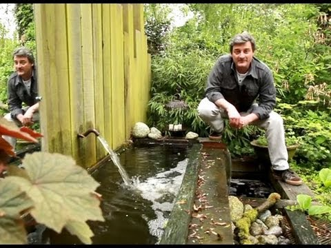 installer une fontaine jaillissante au jardin youtube