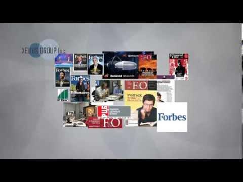 Создание рекламных роликов для бизнеса. Видео для сайта. Рекламный видеоролик для Кселиус Груп.