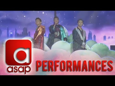 ASAP: Darren, Sam and Iñigo perform 'Girls Like You'