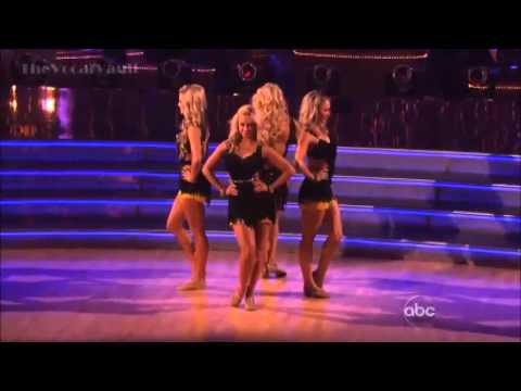 AT&T Spotlight Performance-Sophia Lucia with Chelsie, Lindsay, Whitney-DWTS'16-Wk-9.