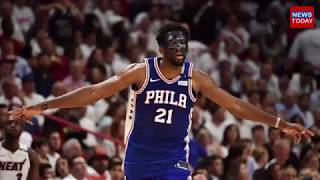 NBA fans had so many jokes about Joel Embiid's unique mask for Game 3 via