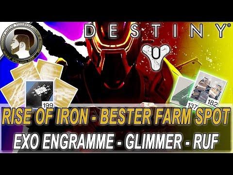 Destiny | Exo Engramme - Glimmer - Ruf | Bester Farm Spot | Rise of Iron - deutsch/HD