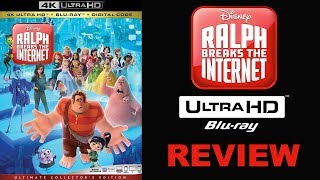 RALPH BREAKS THE INTERNET 4K Bluray Review