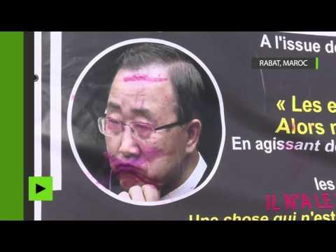 Maroc : importante manifestation contre Ban Ki-moon