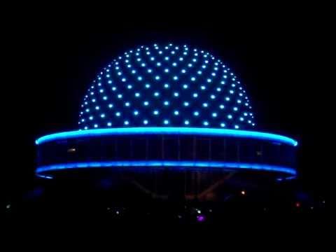 Iluminación del planetario de Buenos Aires I