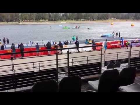2014 Sydney International Regatta Centre Powerboat Race F2 Boat Flips.