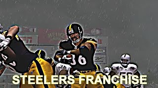 ESPN NFL 2K5 STEELERS FRANCHISE MODE - WEEK 1 VS RAIDERS
