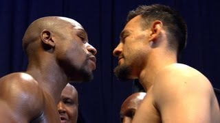 News Update from the Mayweather vs. Guerrero Weigh In - SHOWTIME Boxing