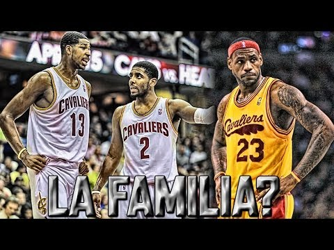 NBA - Lebron James Hints Cleveland!? Kyrie Irving, Tristan Thompson display LA FAMILA On Twitter!