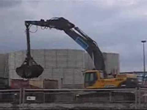 Bagger Excavator Volvo