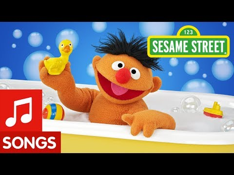 Sesame Street - Hippo In The Bathtub