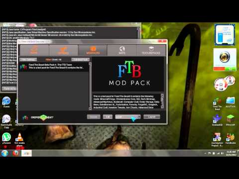 Installing Optifine with Feed The Beast [Works With All Current FTB Modpacks]