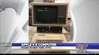 Man finds decades old Apple computer in parents attic