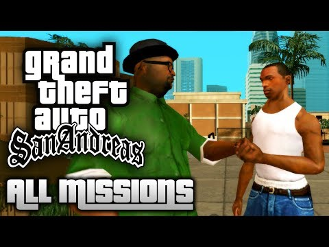 GTA San Andreas - All Missions Walkthrough (1080p 50fps)