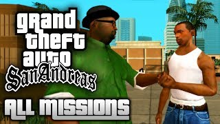 GTA San Andreas - All Missions Marathon (1080p 50fps)