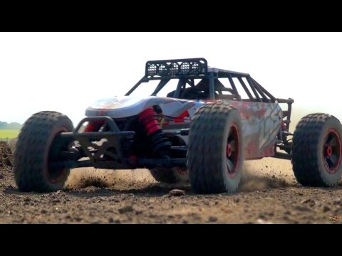RC ADVENTURES - Losi DBXL 4x4 - Jump Testing With A Radio Controlled Buggy
