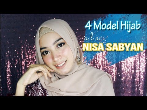 Tutorial Hijab Kekinian Ala Nissa Sabyan 2018