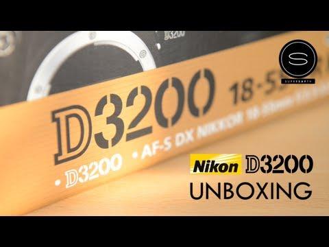 Nikon D3200 UK - Unboxing
