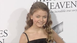 "Kylie Rogers ""Miracles from Heaven"" World Premiere Red Carpet"