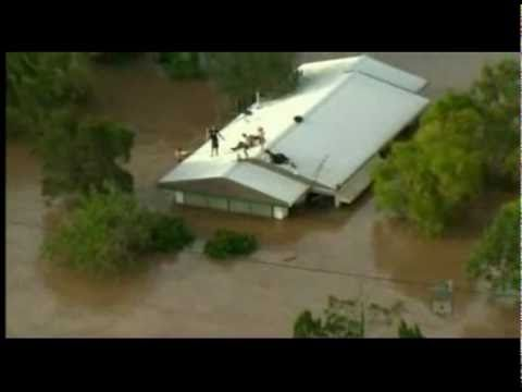 Tribute to Queensland Flood / tsunami disaster, music by Within Temptation (jillian)