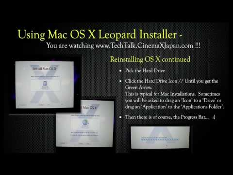 TechTalk Reinstall Mac OS X Snow Leopard 10.6 v2.mov
