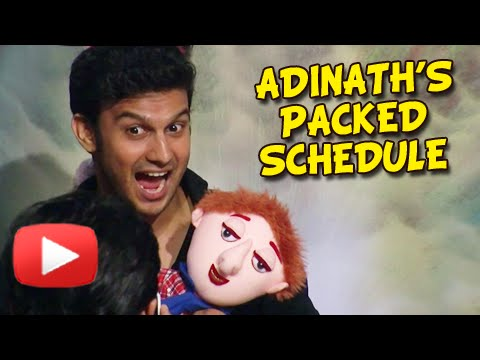 Adinath Kothare's Packed Schedule For 2015 - Zapatlela 3, Premasathi Coming Suun - Marathi Movie video