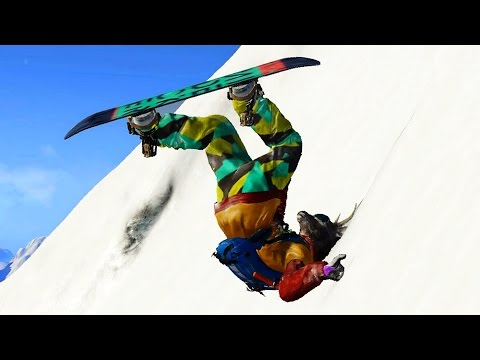 MOST BRUTAL KO IN THE GAME! (Steep Funny Moments)