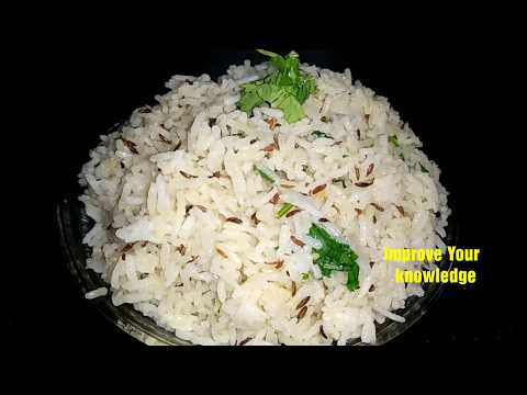 Jeera Rice#Perfect Jeera Rice#Flavoured Cumin Rice#Easy Jeera Rice Recipe#जीरा राइस#Restaurant Style