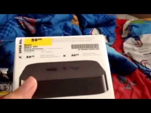 Apple TV Best Buy Open Box Unboxing