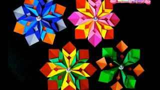 Origami Maniacs 125: Colorful Mandala