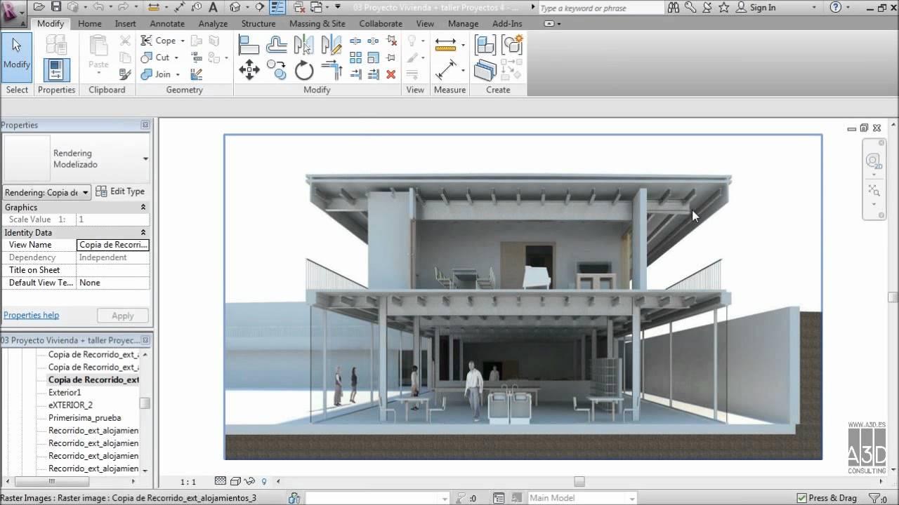 El uso de revit en la facultad de arquitectura youtube Asignaturas de la carrera de arquitectura