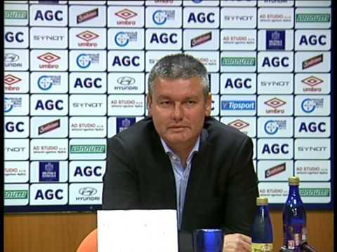Tisková konference Davida Vavrušky po zápase s Bohemians (12.9.2015)