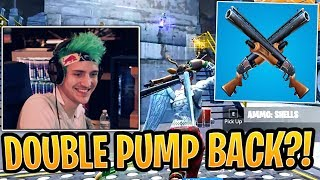Ninja Explains the REAL Reason Why the Double Pump was Removed! - Fortnite Best and Funny Moments