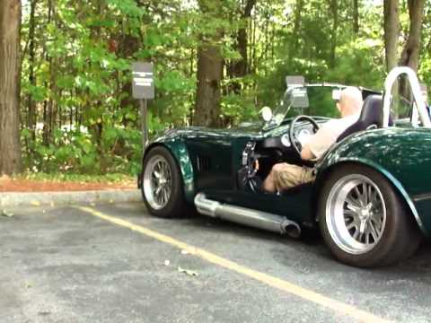 Shelby Cobra LOUD start and acceleration!!
