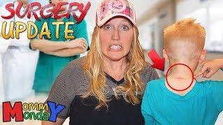 Surgery Update, Braces Update & Baseball Injury || Mommy Monday