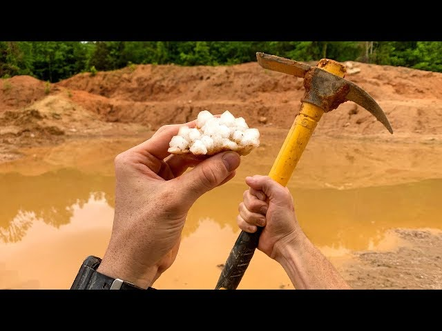 Found Rare Gem While Digging at Diamond Hill Mine! (Unbelievable Find) thumbnail