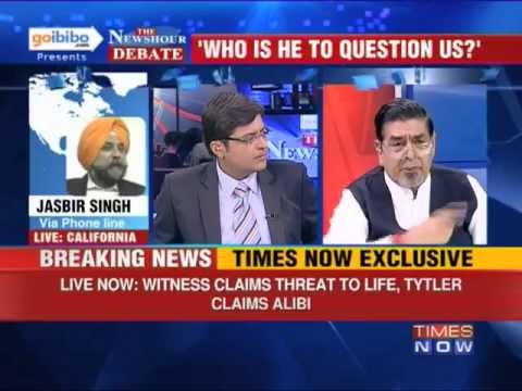 The Newshour Direct: Jagdish Tytler (Part 4 of 4)