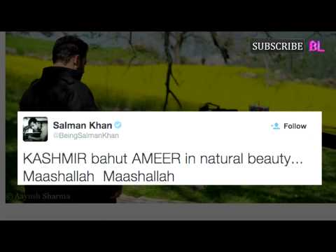 Salman Khan missing ex girlfriend Katrina Kaif in Kashmir?