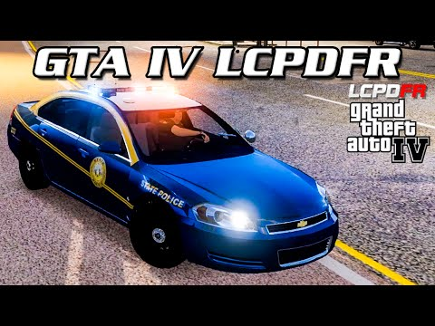 GTA IV LCPDFR MP - West Virginia State Police